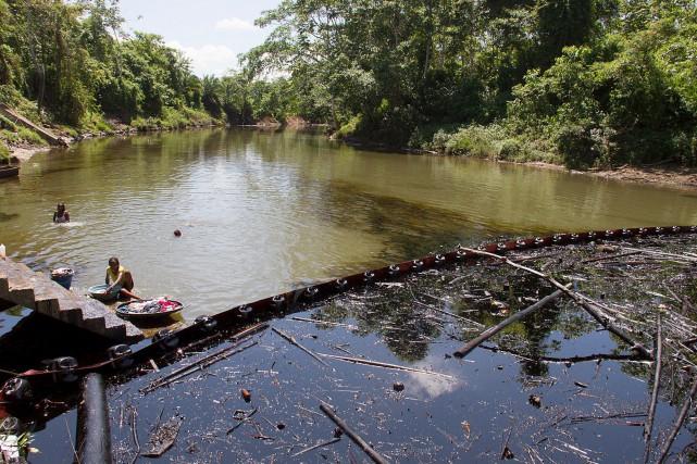 Le ministre de l'Environnement, Gabriel Vallejo, a précisé... (PHOTO AFP)