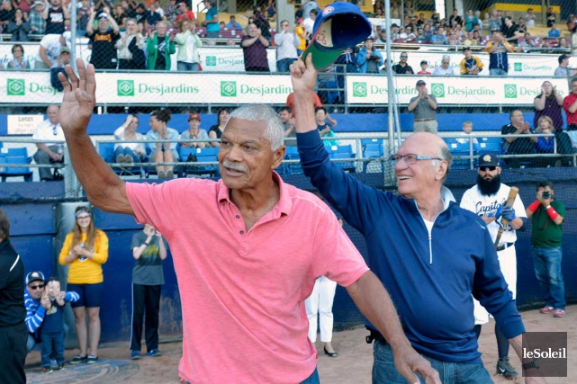 Devant 3256 spectateurs, dont l'ancien gérant des Expos... (Le Soleil, Jean-Marie Villeneuve)