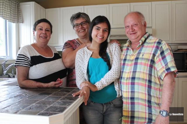 Daniela Guio a passé un an à Trois-Rivières.... (Photo: Audrey Tremblay, Le Nouvelliste)