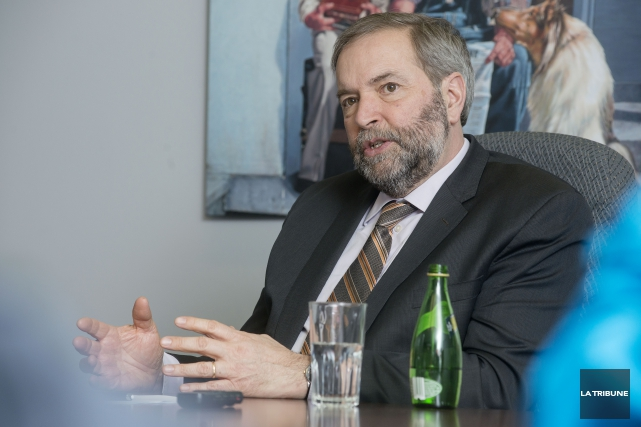 Thomas Mulcair... (Archives La Tribune)