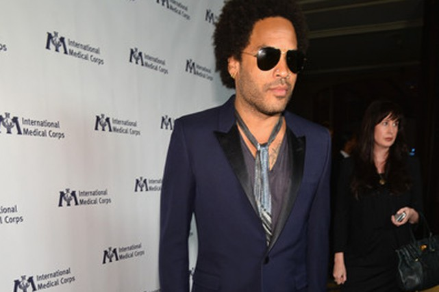 Lenny Kravitz... (Photo Alberto E. Rodriguez, AFP)