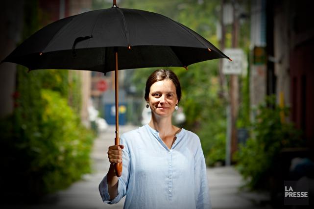 L'écrivaine québécoise Pascale Quiviger.... (PHOTO FRANÇOIS ROY, ARCHIVES LA PRESSE)