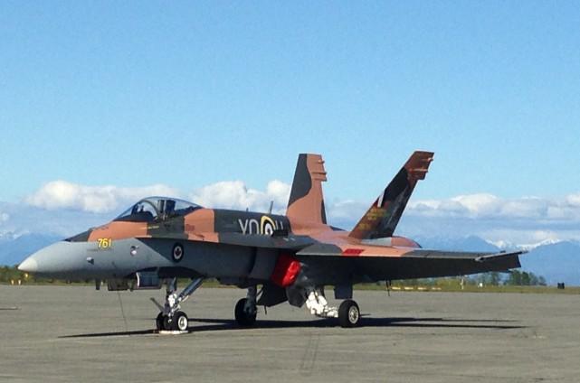 Ceux qui ont entendu le ciel se déchirer vers 16h30 vendredi après-midi à... (Photo Aviation royale canadienne)