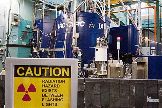 Le dépotoir de déchets nucléaires de Chalk River.... (Archives, La Presse canadienne)