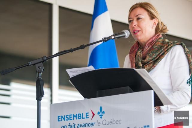 Dominique Vien, ministre du Tourisme.... (Photo: Olivier Croteau, Le Nouvelliste)
