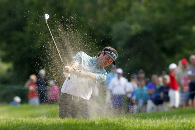 Bubba Watson... (PHOTO STEW MILNE, AP)