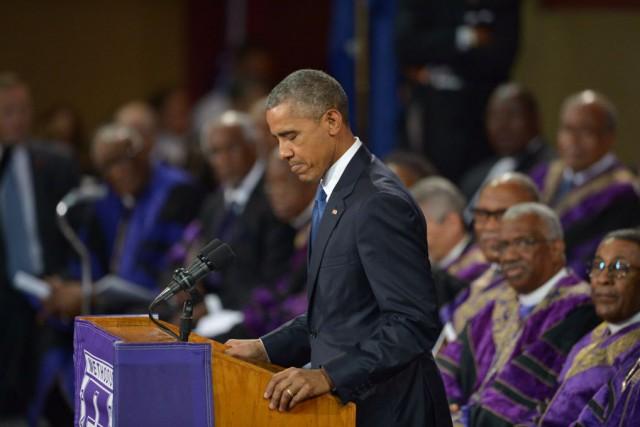 «Trop longtemps, nous avons ignoré le poids des... (PHOTO MANDEL NGAN, AFP)