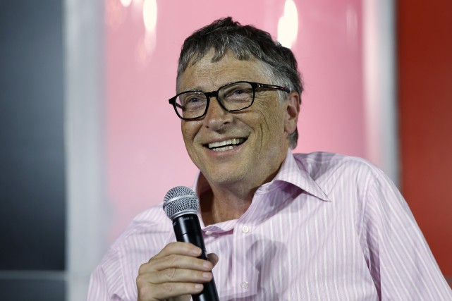 Bill Gates... (PHOTO THOMAS SAMSON, AFP)