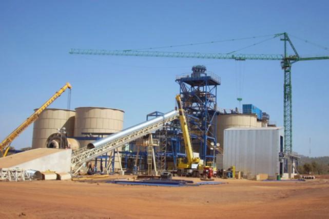 Mine d'or de Semafo au Burkina Faso.... (Photo tirée de leur site web)