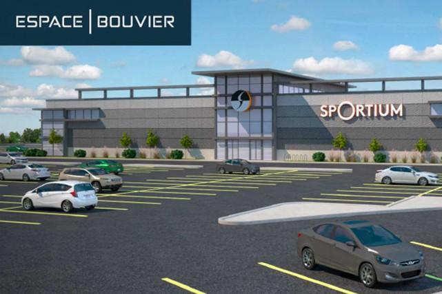 La bannière Sportium, qui rivalisera entre autres avec... (Image tirée du site groupedallaire.ca)