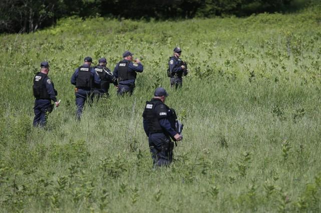 L'autre évadé, David Sweat, 35 ans, est poursuivi... (PHOTO MARY ALTAFFER, AP)