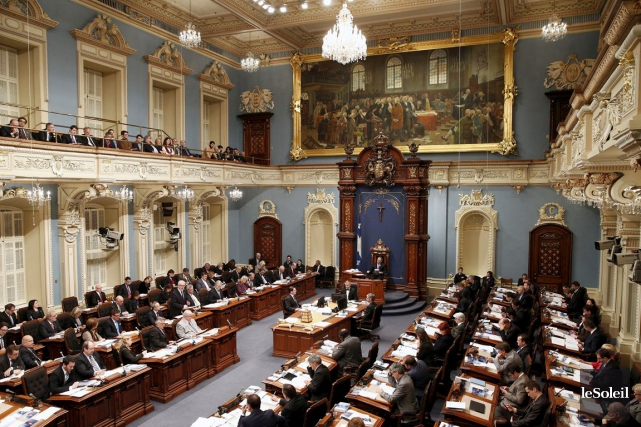 L'Assemblée nationale du Québec a adopté à l'unanimité... (PHOTO ARCHIVES LE SOLEIL)