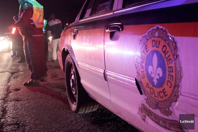 Deux jeunes adultes ont perdu la vie dans un accident, vendredi soir, sur la... (Etienne Ranger, Archives LeDroit)