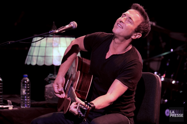 Le bluesman canadien Colin James a puisé dans... (Photo Olivier Jean, La Presse)