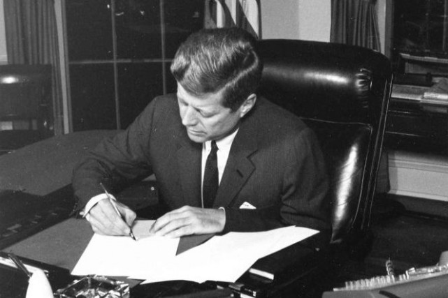 John F. Kennedy.... (Archives, Reuters)