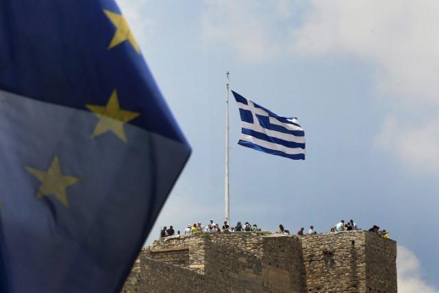 La Grèce risque d'être en proie à une... (PHOTO YANNIS BEHRAKIS, REUTERS)