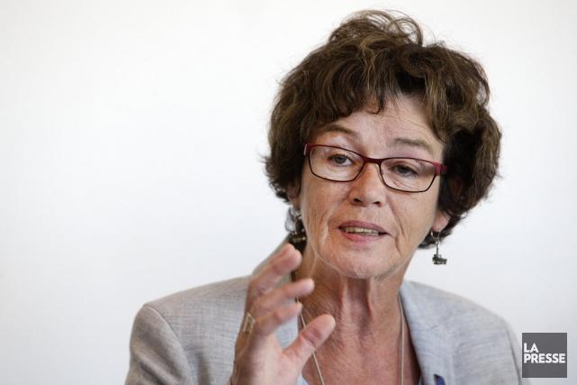 La présidente de la CSQ, Louise Chabot.... (PHOTO ROBERT SKINNER, ARCHIVES LA PRESSE)
