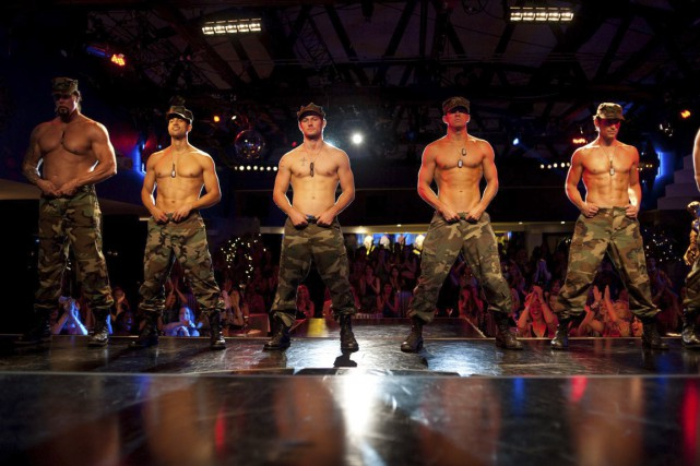 Les principaux protagonistes de Magic Mike sont de... (Photo fournie par Warner Bros)