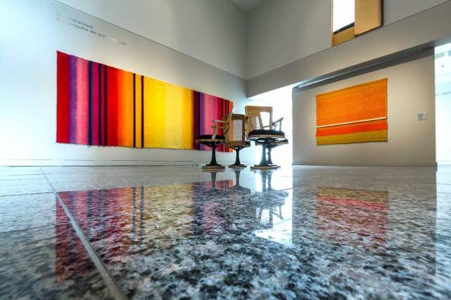 Mariette Rousseau-Vermette est connue pour ses grandes tapisseries... (Photo Musée d'art contemporain de Baie Saint-Paul, René Bouchard)