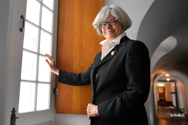 Directrice et conservatrice du Musée des Ursulines de... (Photo Le Soleil, Yan Doublet)