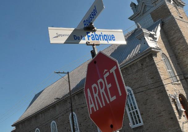 Il existe une rue de la Fabrique à... (- Photo Le Progrès-Dimanche, Rocket Lavoie)