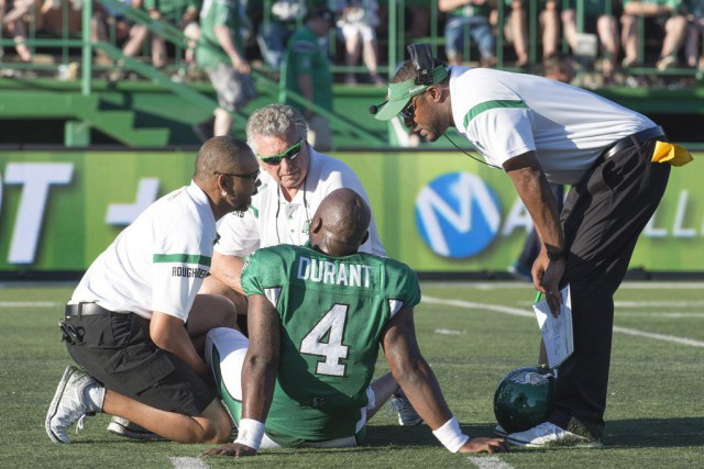 En plus du match, les Roughriders ont perdu... (Photo Rick Elvin, PC)