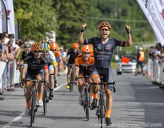 Guillaume Boivin a remporté un deuxième titre canadien... (- Courtoisie canadiancyclist.com, Rob Jones)