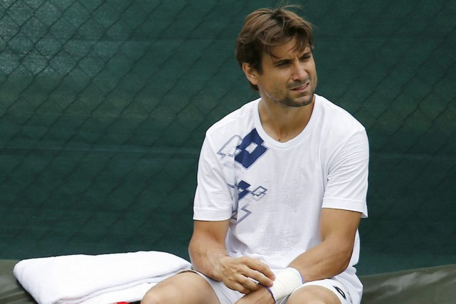 David Ferrer... (PHOTO ANDREW COULDRIDGE, REUTERS)