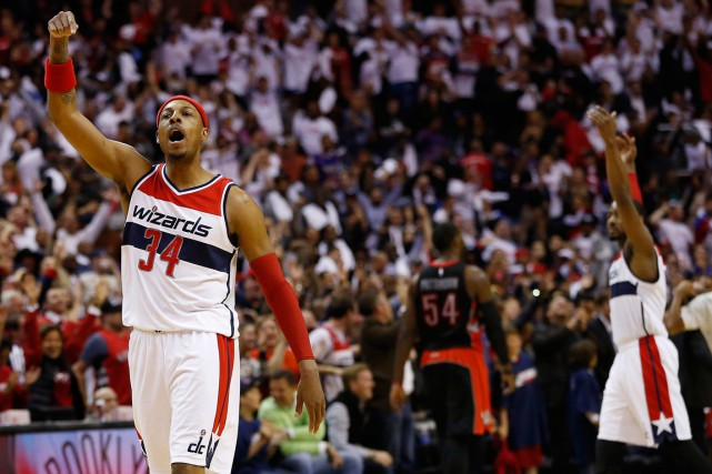 Paul Pierce a disputé ses 15 premières saisons... (PHOTO GEOFF BURKE, ARCHIVES USA TODAY)
