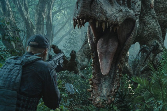 Jurassic World... (PHOTO FOURNIE PAR UNIVERSAL PICTURES)