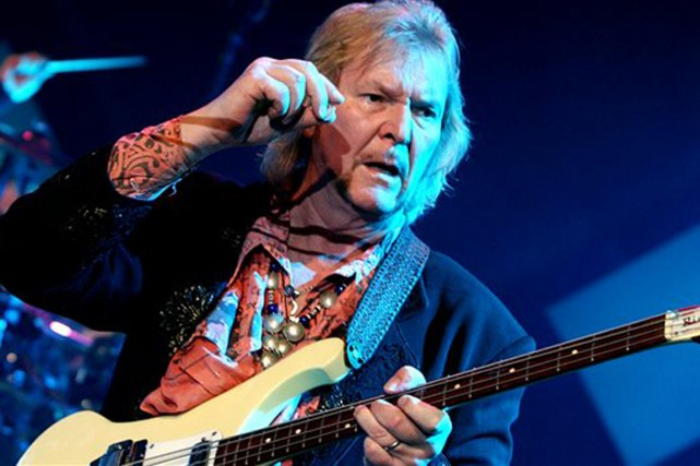 Chris Squire... (Photo Reuters)