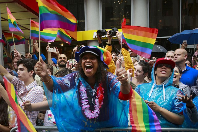 Onze ans après la légalisation du mariage gai... (Photo Eduardo Munoz, Reuters)