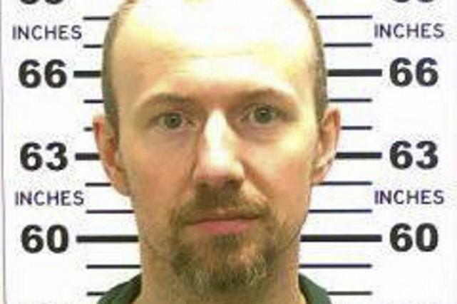 David Sweat, 35 ans, avait été condamné à... (Photo New York Police Department)