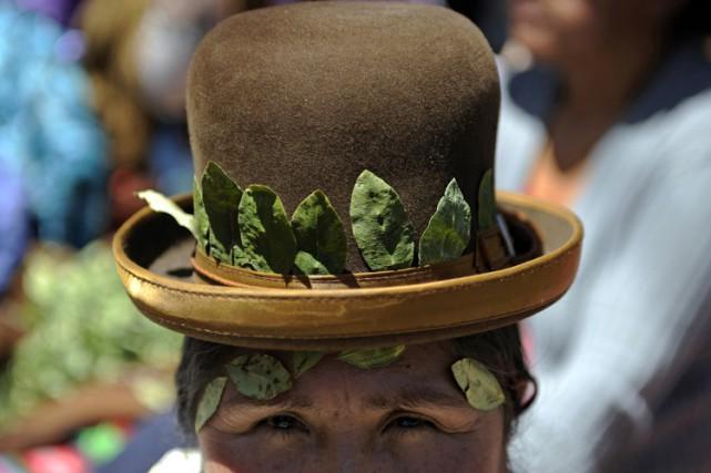 La Bolivie est le troisième producteur mondial de... (ARCHIVES AFP)