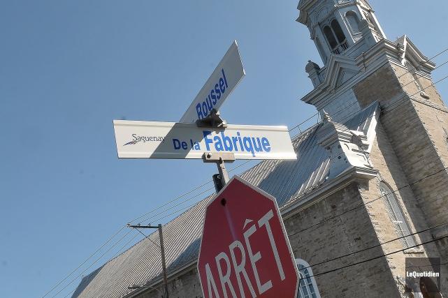 Il existe une rue de la Fabrique à... ((Photo Le Quotidien-Rocket Lavoie))
