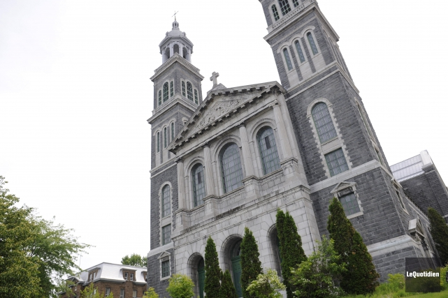La cathédrale de Chicoutimi... (Archives Le Quotidien, Marianne L. St-Gelais))
