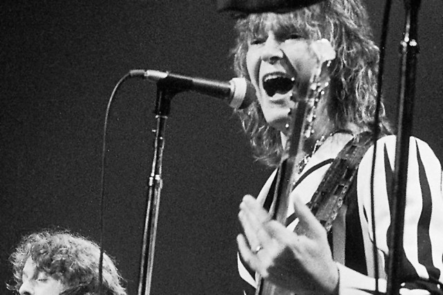 Chris Squire en 1977... (Associated Press)