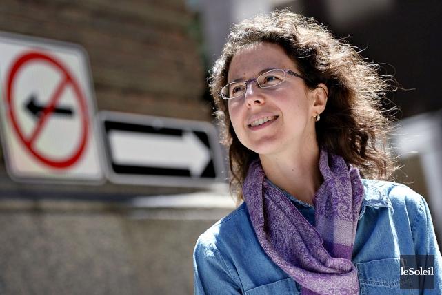 La pianiste Marianne Trudel aimerait que le public... (Le Soleil, Patrice Laroche)