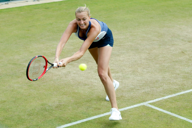 Petra Kvitova est réputée pour la qualité de... (Photo Andrew Couldridge, Reuters)