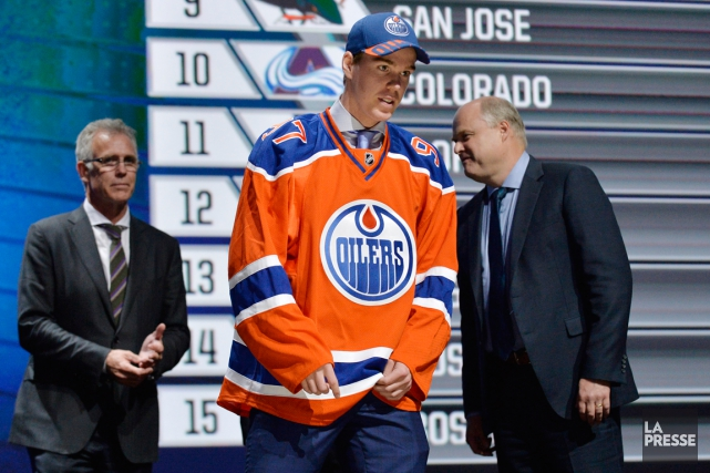 Sans surprise, Connor McDavid a été sélectionné au... (Photo Steve Mitchell, USA Today)