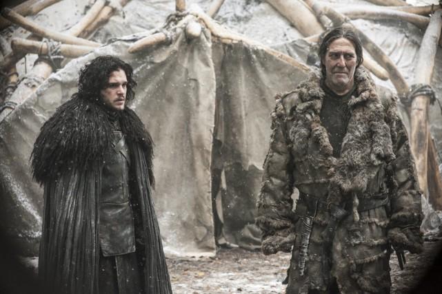La série Game of Thrones fait partie des... (PHOTO HELEN SLOAN, ASSOCIATED PRESS)
