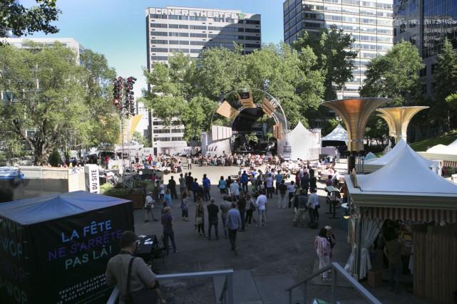 Le Festival de jazz a ouvert le nouveau... (PHOTO: FRÉDÉRIQUE MÉNARD-AUBIN, FOURNIE PAR SPECTRA)