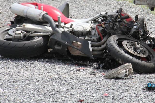 On connaît maintenant l'identité de la motocycliste qui est décédée dimanche... (Archives La Presse)