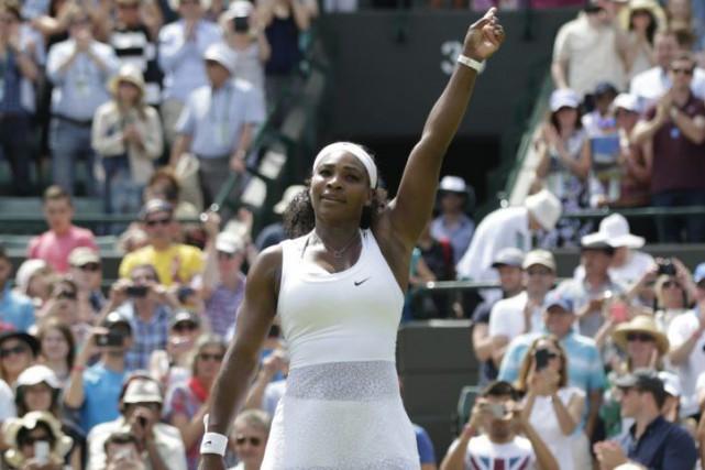 Serena Williams.... (Associated Press)