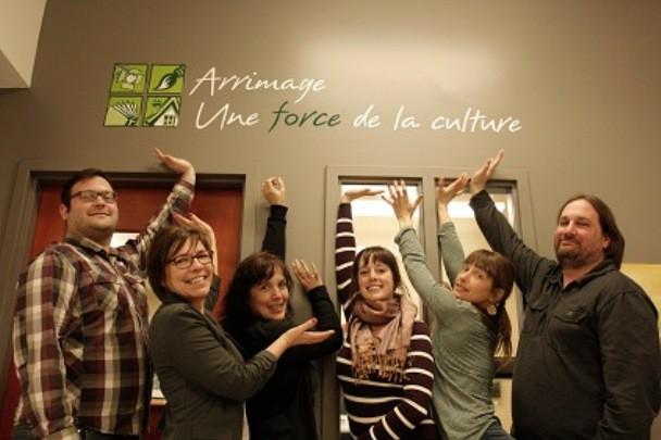 Le conseil d'administration d'Arrimage: Nicolas Vigneau, Brigitte Aucoin,... (Photo Jean-Michel Duclos)