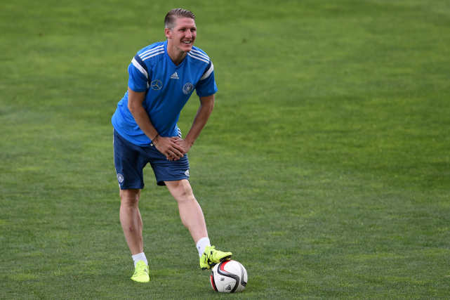 Bastian Schweinsteiger... (Photo Francisco Leong, AFP)