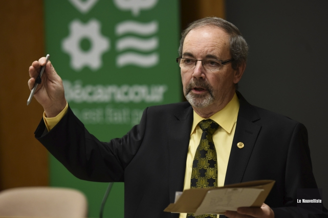 Le maire de Bécancour, Jean-Guy Dubois.... (Photo: François Gervais, Le Nouvelliste)