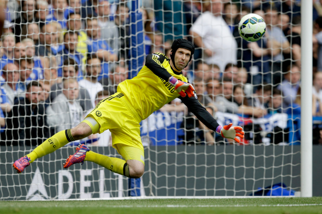 Petr Cech... (Photo Matt Dunham, AP)