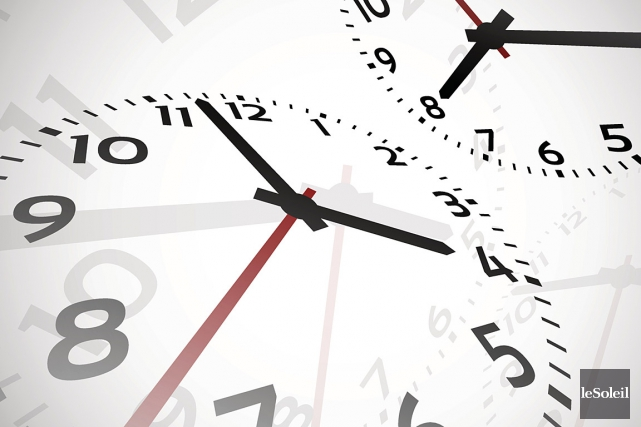 La dernière minute du mois de juin durera 61 secondes. Une curiosité liée à la... (Photothèque La Presse)