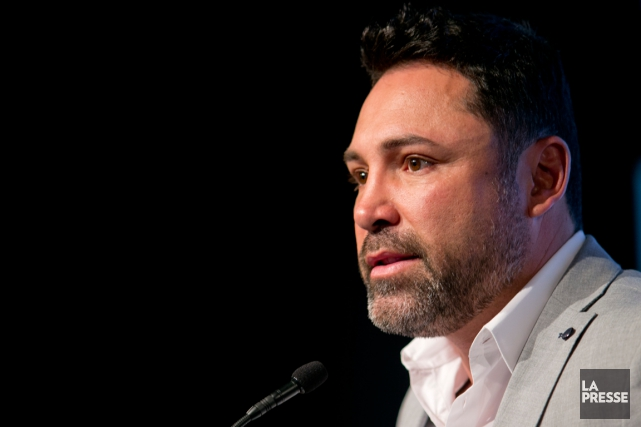 Oscar De La Hoya... (Photo David Boily, La Presse)
